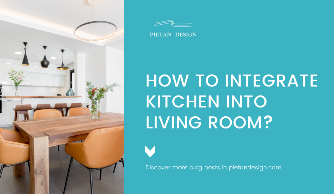 How to integrate kitchen into living room?